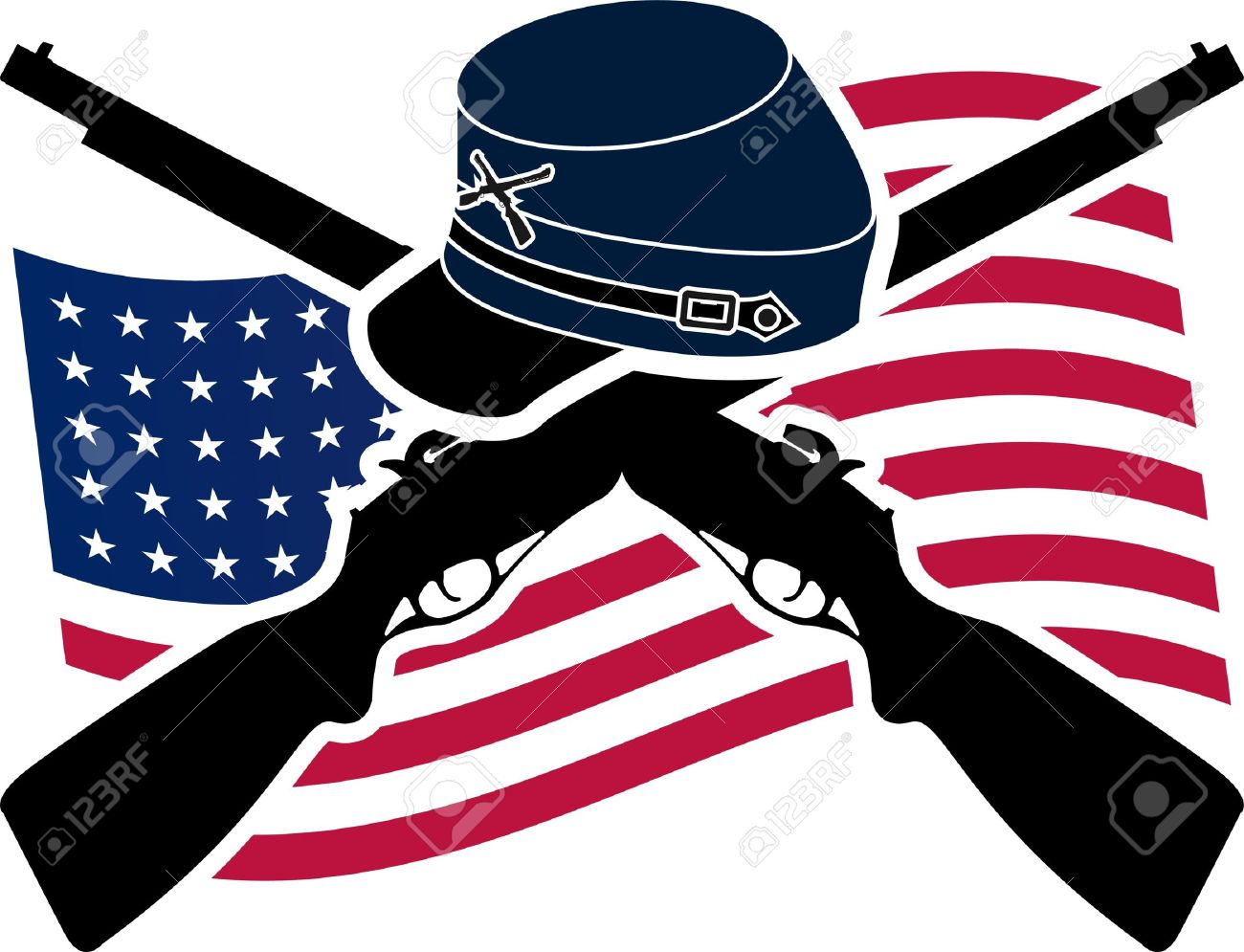 981 Civil War free clipart.