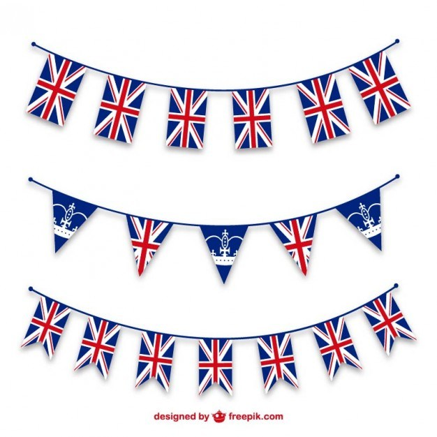 Union jack bunting border clipart 5 » Clipart Portal.