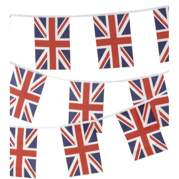 Union Jack British Flag Bunting 3m.