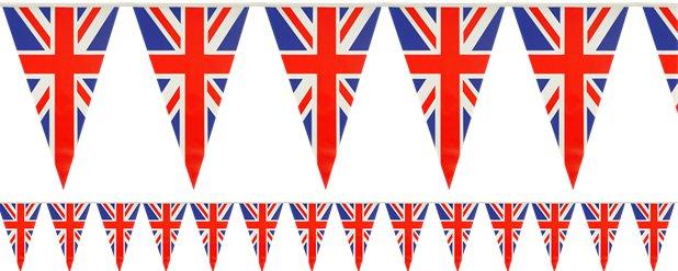 Union Jack Decorations.