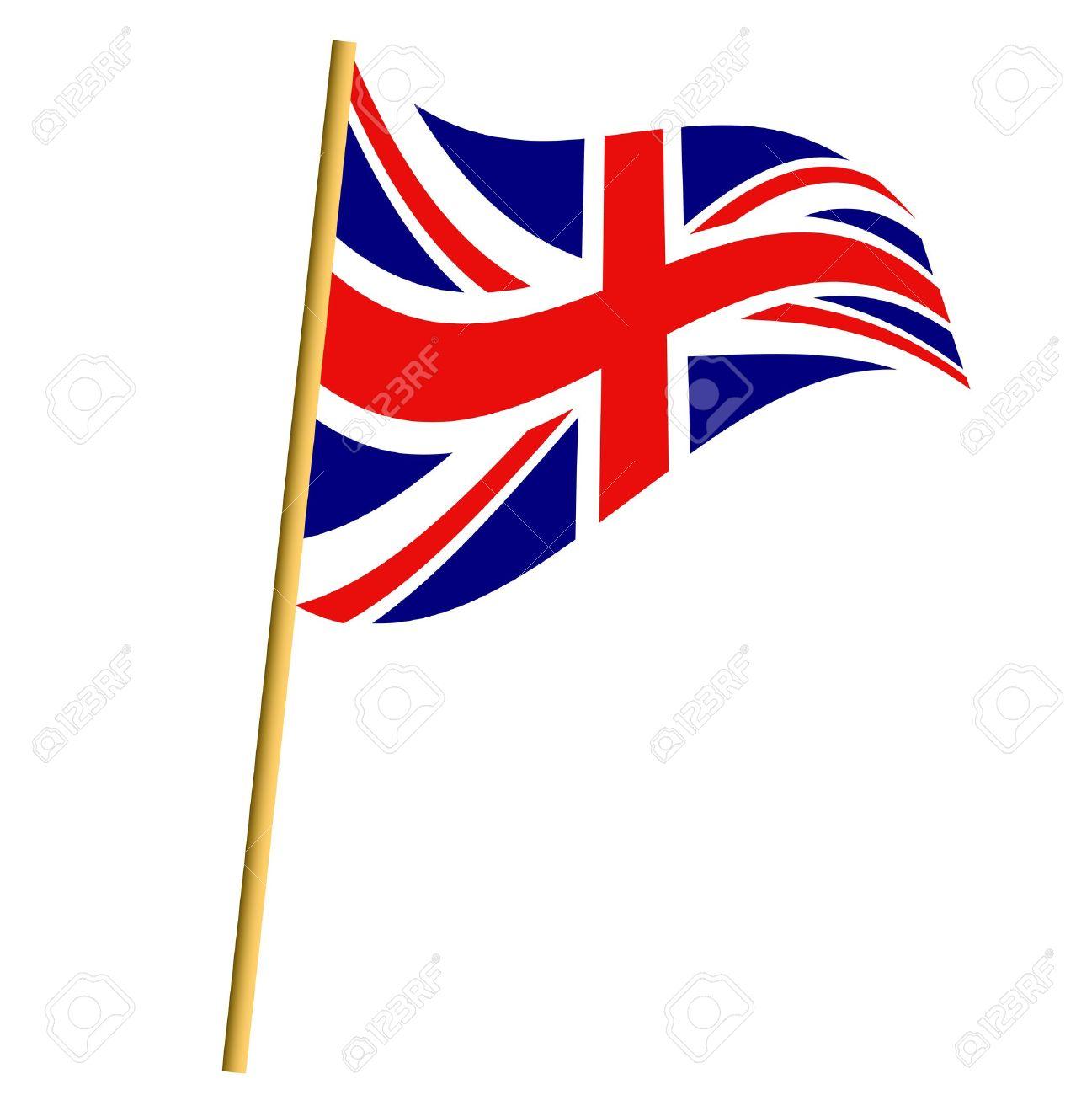Clipart Union Jack Flag.
