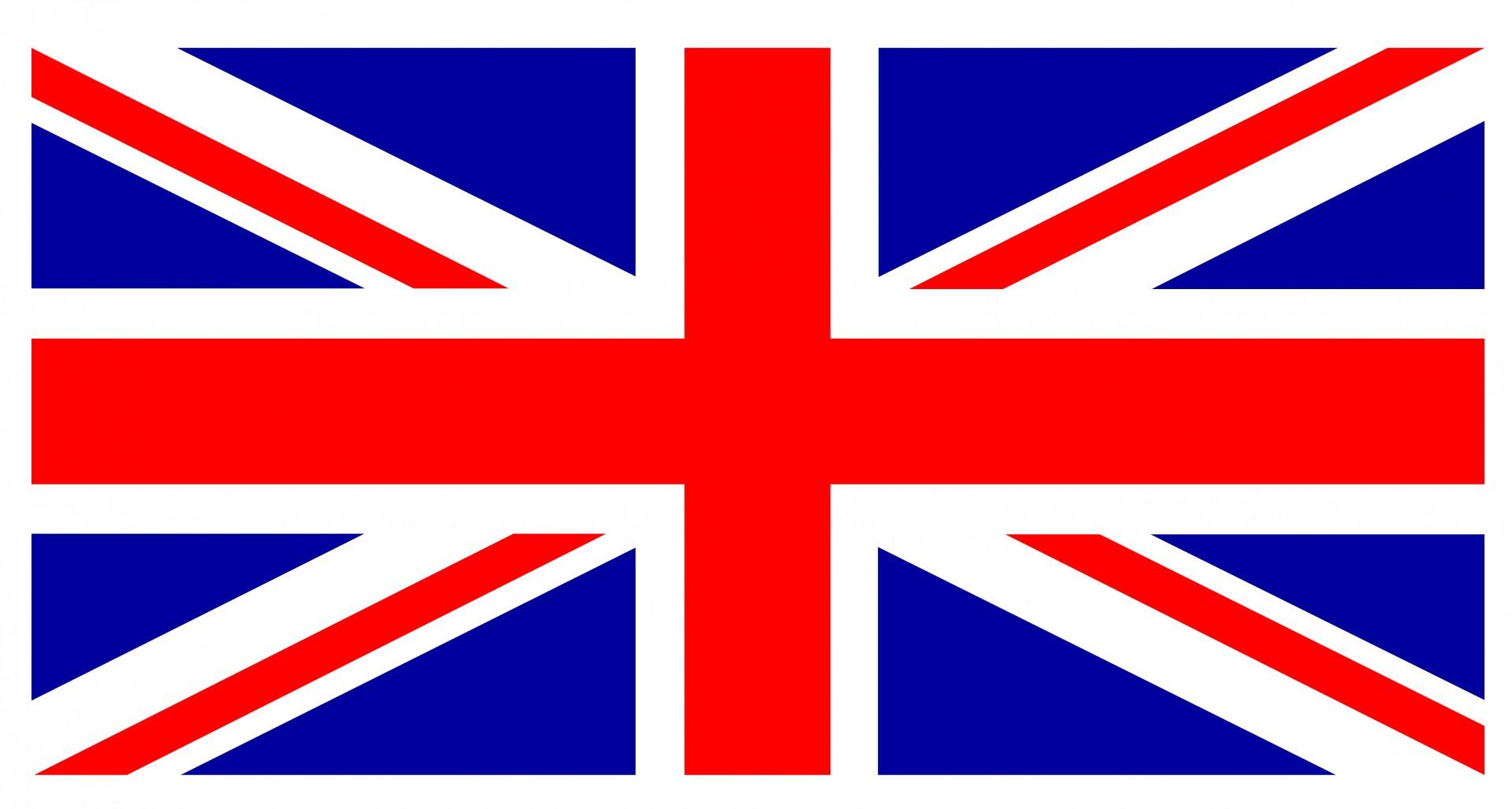 Union Jack Flag Border Free Stock Photo.