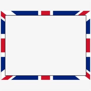 Union Jack Clipart Border.