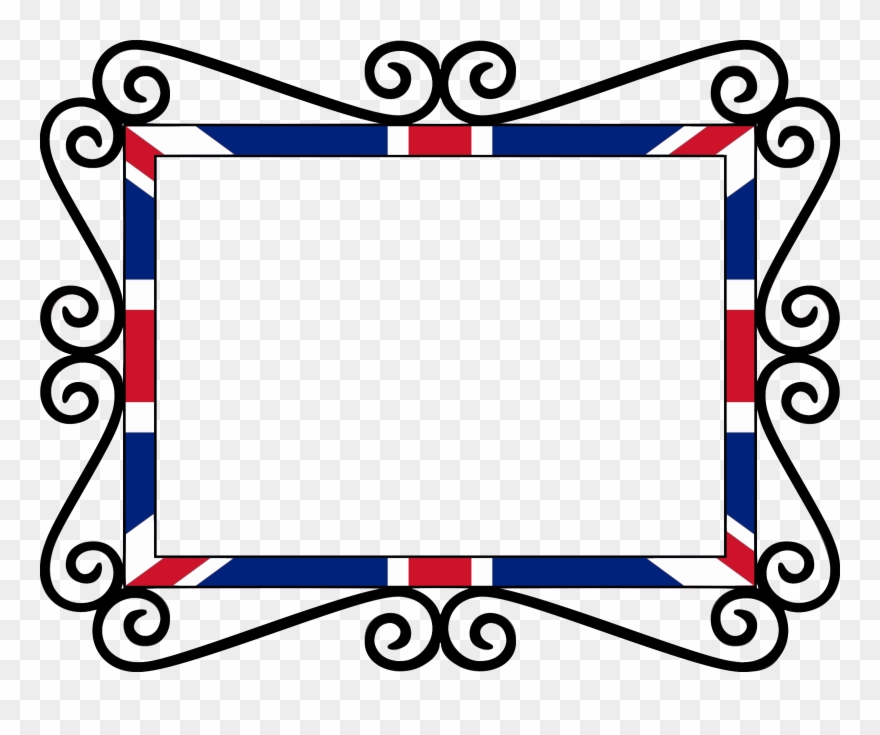 Union Jack Borders And Frames National Flag United.
