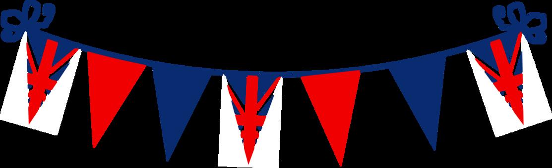 Union Jack Flag Animal Silhouettes United Kingdom Bunting.
