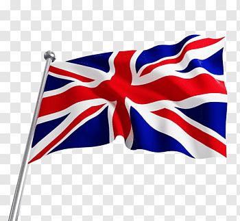 Union Jack flag, England Flag of the United Kingdom, Cartoon.