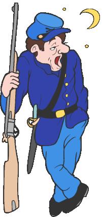 Union Soldier Cliparts.