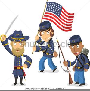 Union Soldier Clipart.