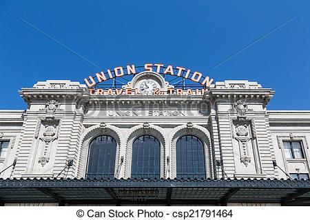 Stock Image of Denver Union Station.
