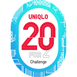 Uniqlo 20 for 2 Challenge.