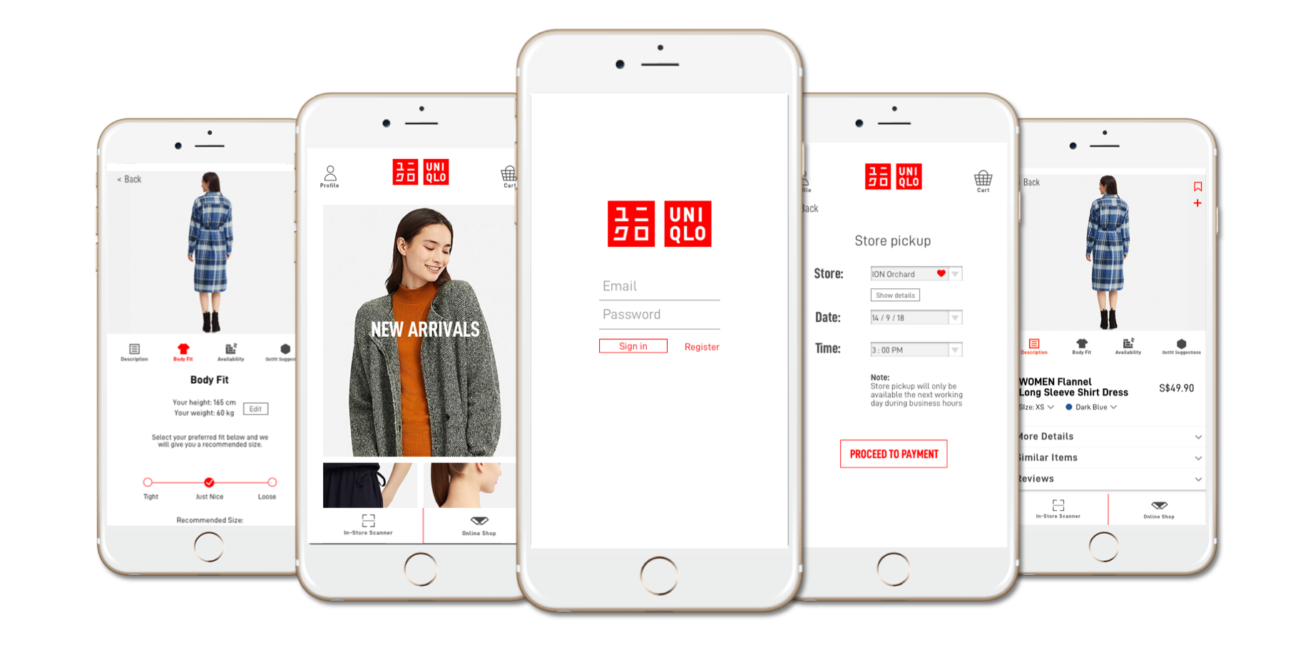 Giving the UNIQLO app a new lease of life — a UX case study.