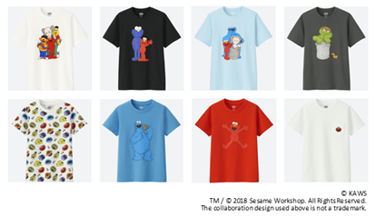 UNIQLO to Launch KAWS x SESAME STREET UT Collection.