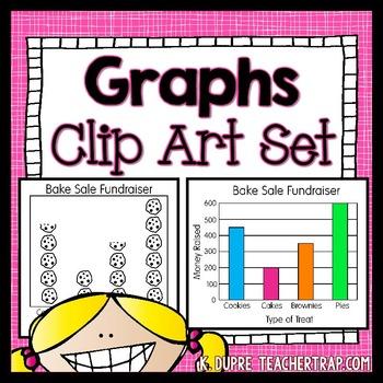 Graphs Clip Art.