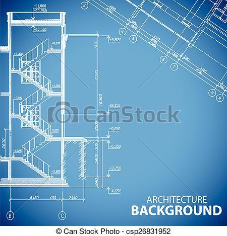 Clipart Vector of Unique building backgrounds.