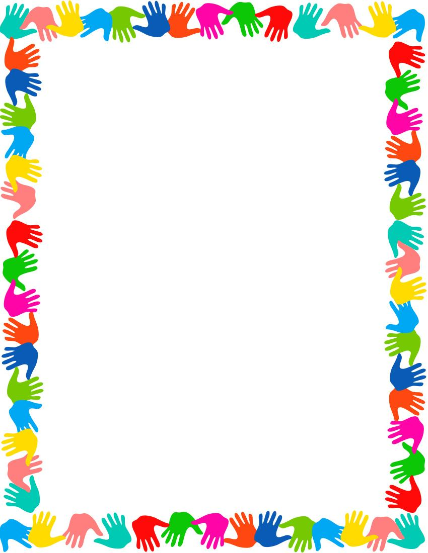 Unique School Clip Art Borders Design » Free Vector Art.