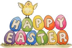 Happy Easter Clip Art.