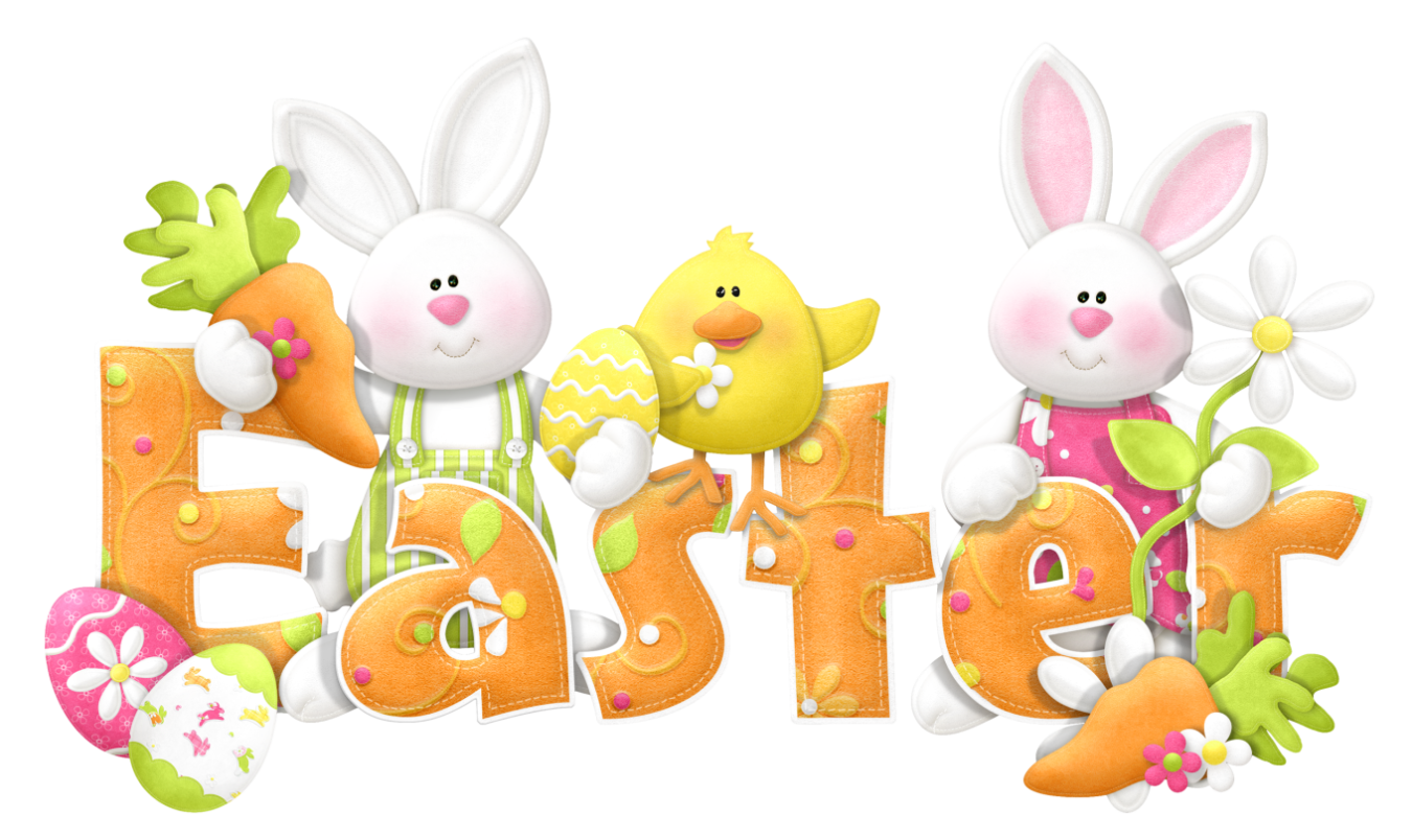Happy Easter Sunday Clipart.