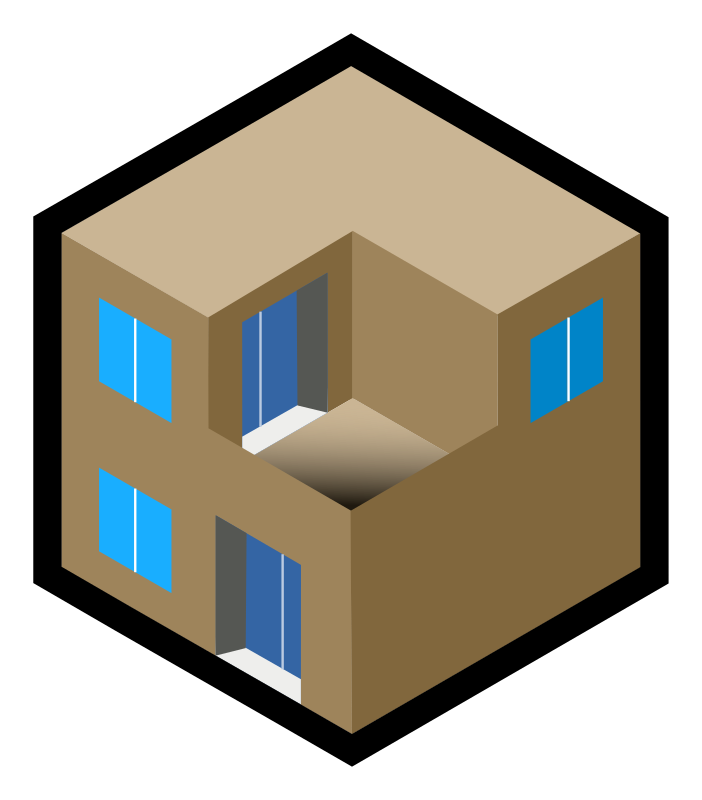 Iso City Unit Clipart Icon PNG.