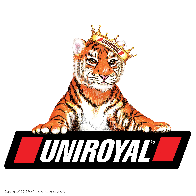 Michelin raising Uniroyal truck, Michelin off.