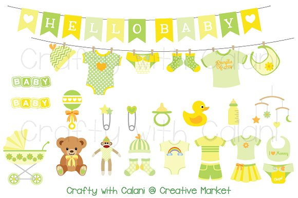 Baby pram clipart Photos, Graphics, Fonts, Themes, Templates.