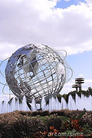 The Worlds Fair Globe In NYC Editorial Image.