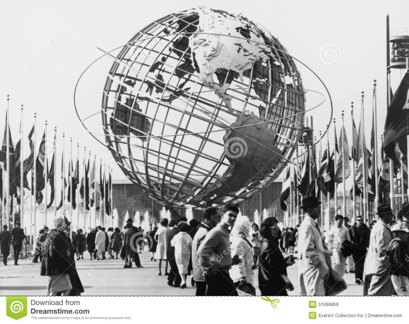 The Unisphere, Symbol Of The New York 1964.