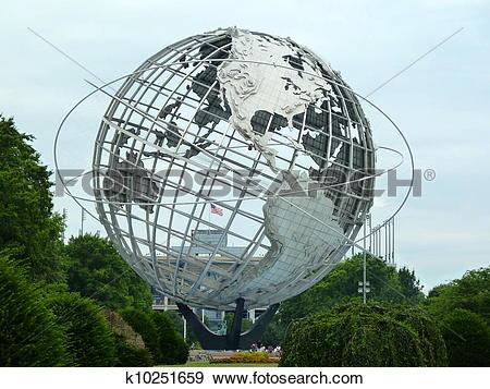Stock Photograph of the unisphere k10251659.