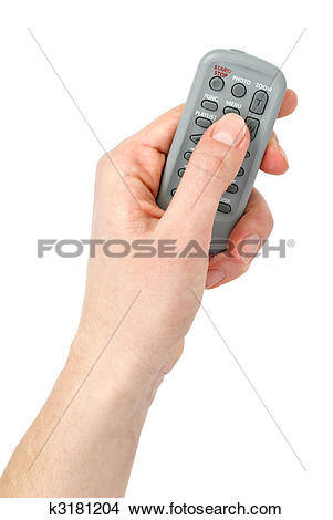 Stock Photo of Hand with Tiny infra.