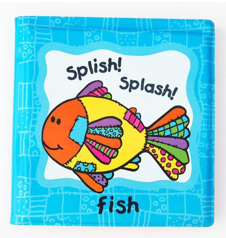 Splish Splash Fish Bipp Baby Book.