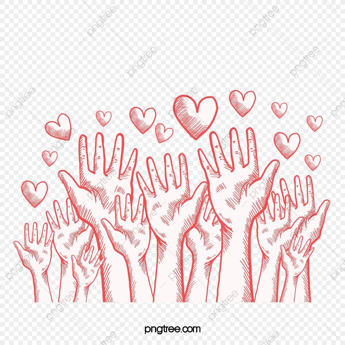 True Energy Love, Hand, Unite, Positive Energy PNG.