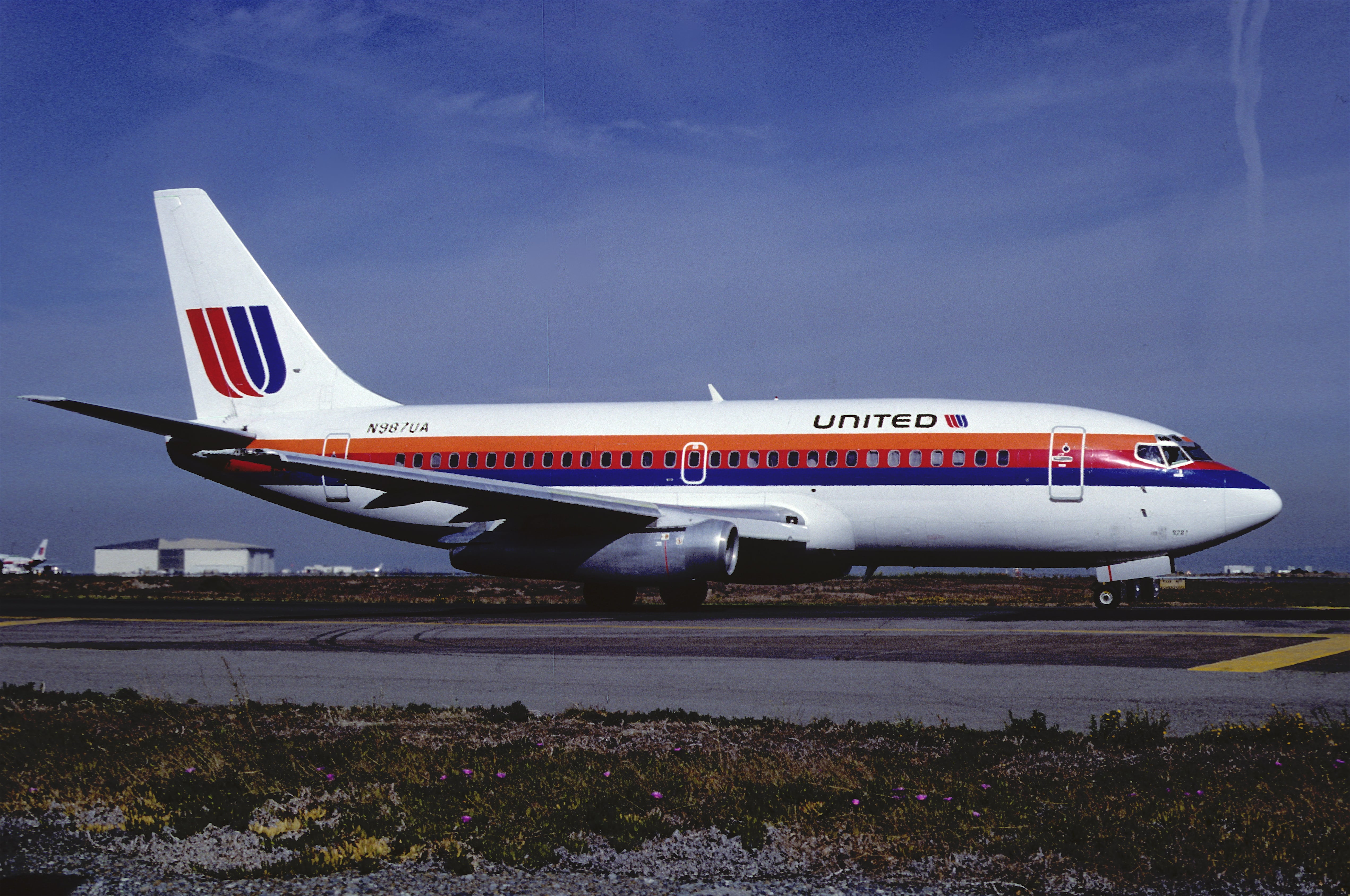 United Airlines Tulip Logo, Gone But Not Forgotten.