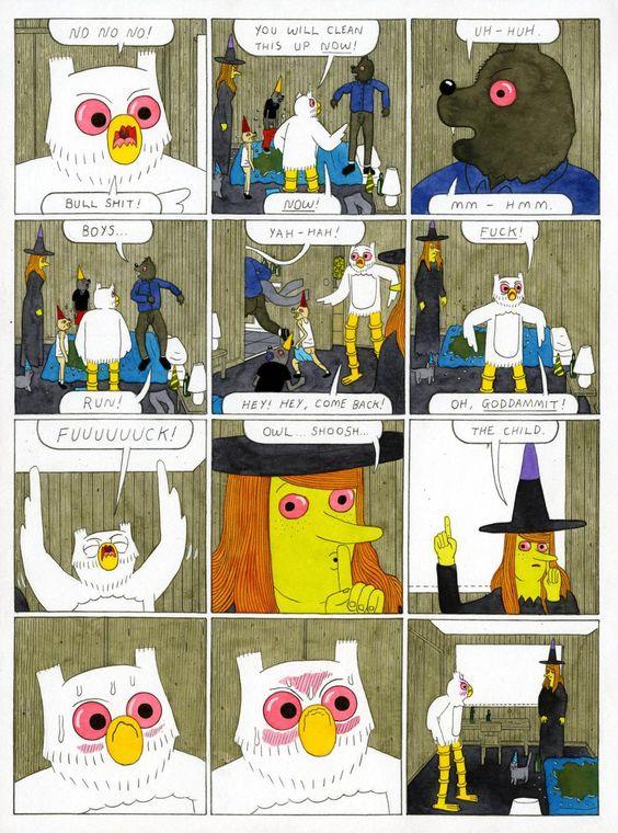 Boston Clanger,' Today's Comic by Simon Hanselmann.