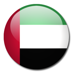 Button Flag United Arab Emirates Icon, PNG ClipArt Image.