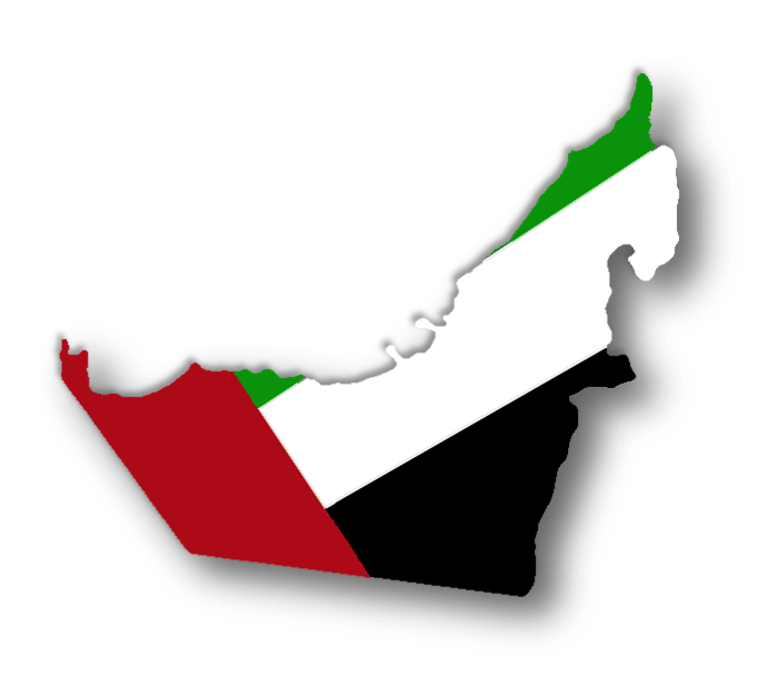 Uae Map Clipart.