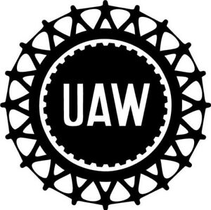 Details about United Auto Workers UAW Vinyl Car Window Laptop Decal Sticker.