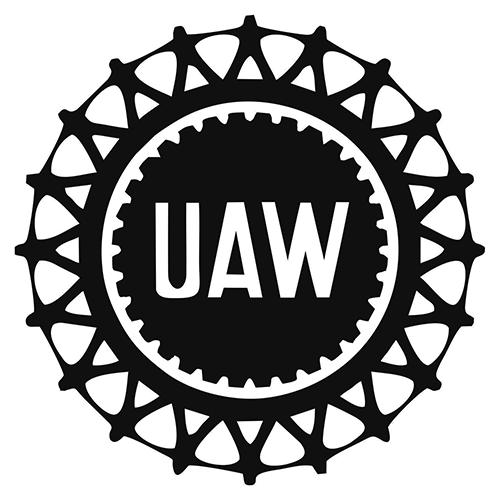United Auto Workers Die Cut Vinyl Decal PV2048.