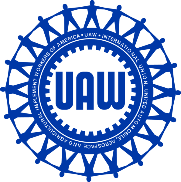 United Auto Workers Logo.