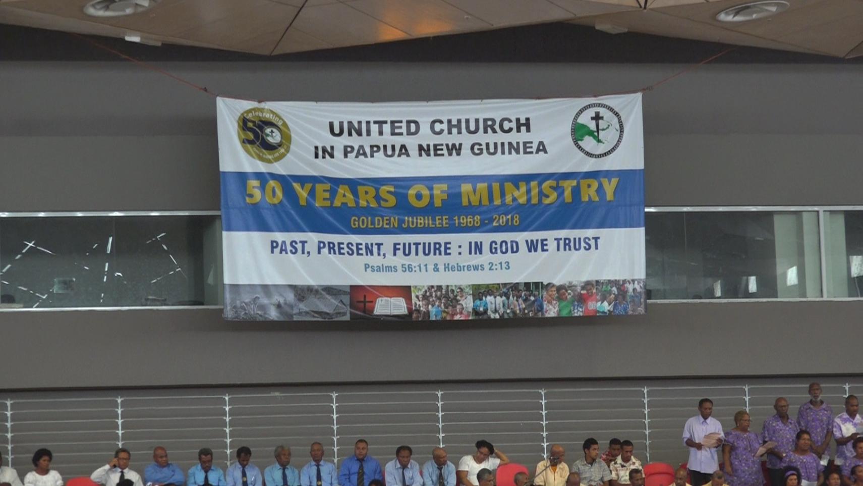 United Church of Papua New Guinea Celebrates Golden Jubilee.