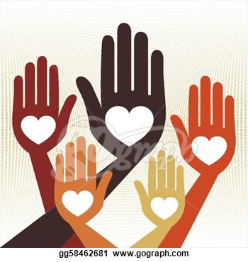 United Hands Clipart.