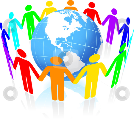 People united clipart.