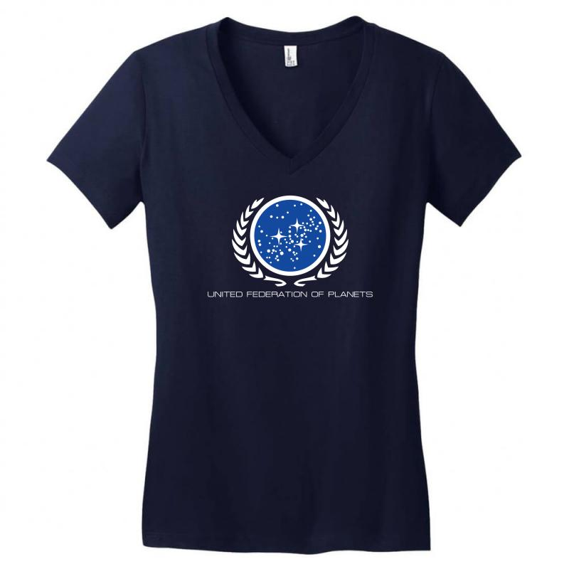 Star Trek United Federation Of Planets Logo Women\'s V.