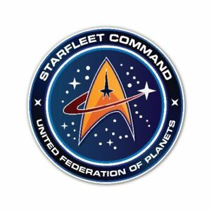 Details about Starfleet Command United Federation of Planet Logo Decal  Vinyl Sticker.