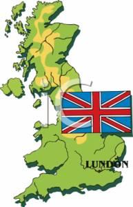 United Kingdom Flag Clipart.