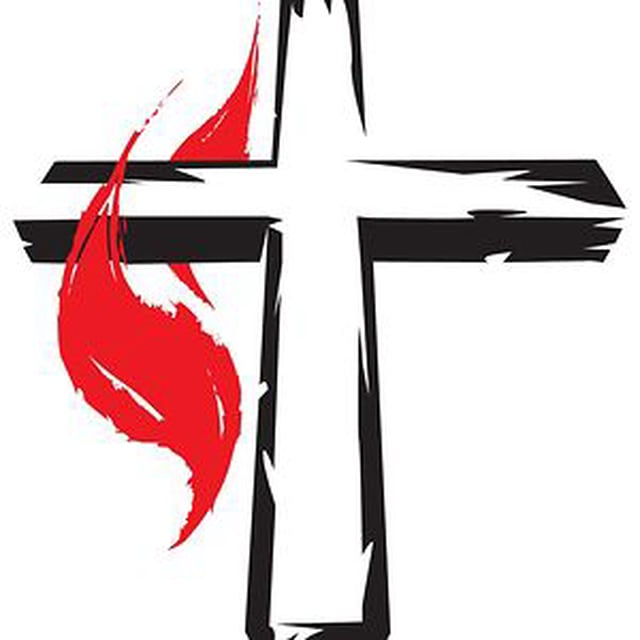 Download united methodist clip art clipart Cross and flame.
