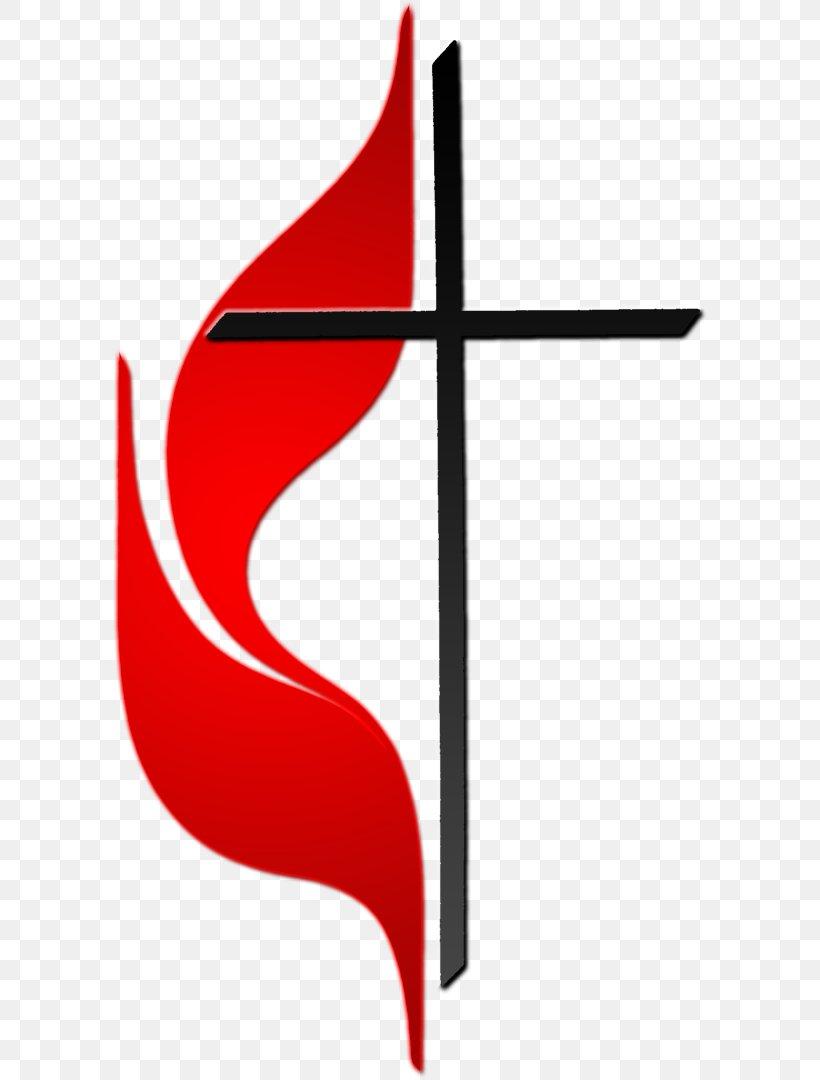 Marlton United Methodist Church Methodism Cross And Flame.