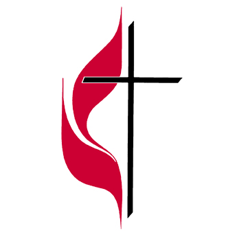 Methodist Flame And Cross Clipart.