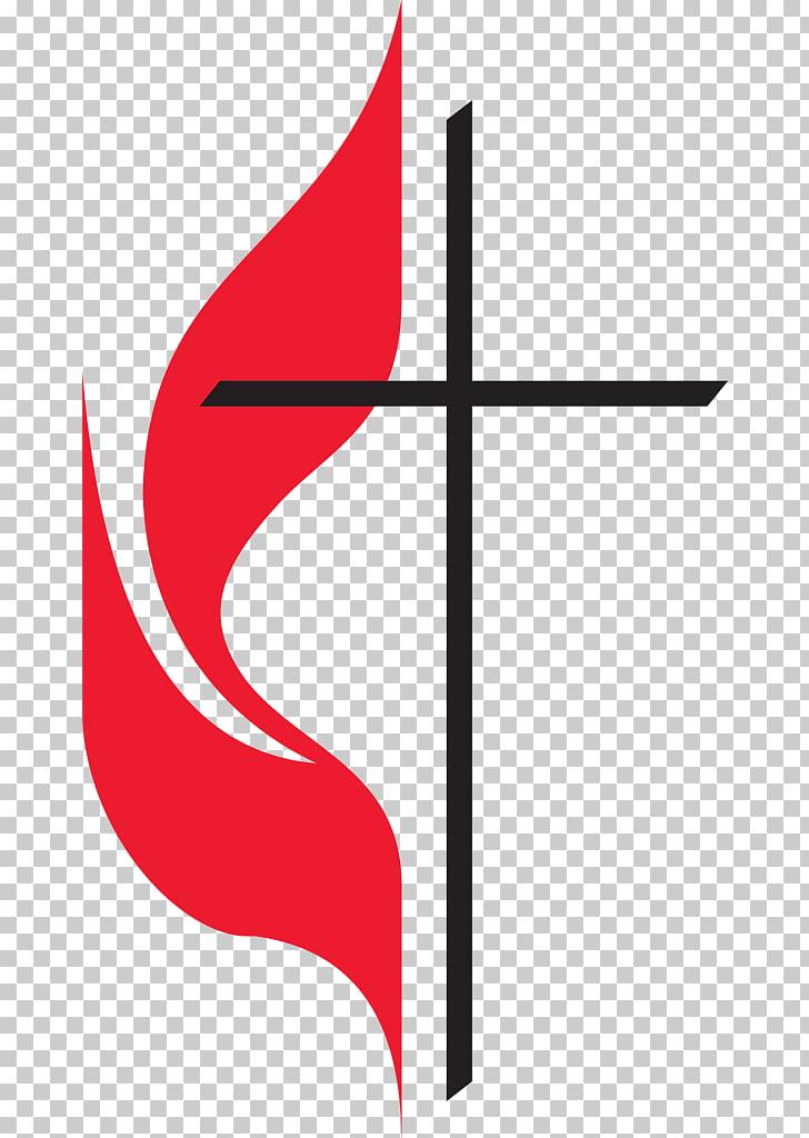 United Methodist Church Cross and flame Methodism Christian.