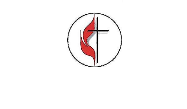 United Methodist Cross and Flame Bulletin, Large (Pkg of 50.