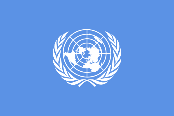 Flag Of The United Nations clip art Free Vector / 4Vector.