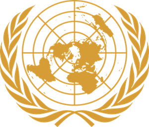 Emblem of the United Nations UN Logo Vector (.EPS) Free Download.